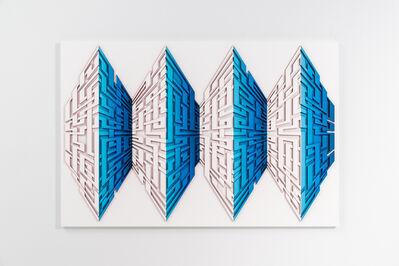 Mark Ollinger, 'RUNNING PARALLELS', 2017