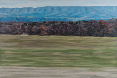 Jennifer Krause Chapeau, 'West Virginia Mountains', 2014
