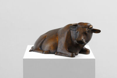 François-Xavier Lalanne, 'Vache couchée I', 2002