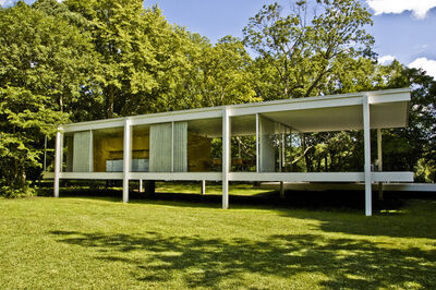 Ludwig Mies van der Rohe, 'Farnsworth House', 1946-1950