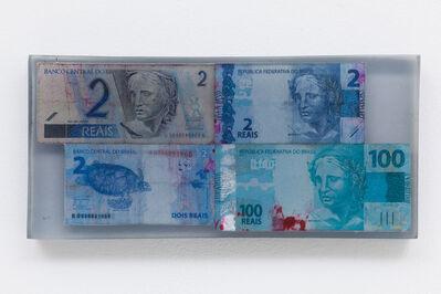 João Castilho, '2/100 (da série Dinheiro Pintado)', 2015