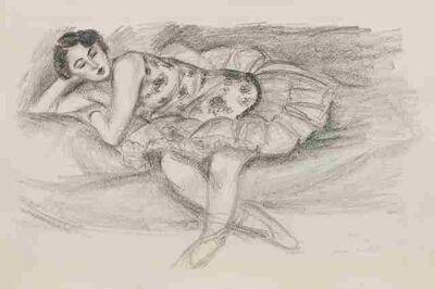 Henri Matisse, 'Danseuse au Divan pliee en deux (from Dix Danseuses)', 1927