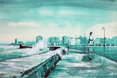 Luis Enrique Camejo, 'Malecón Verde', 2014