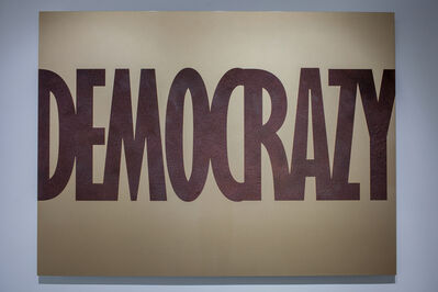 Marcos Ramírez ERRE, 'Democrazy', 2017