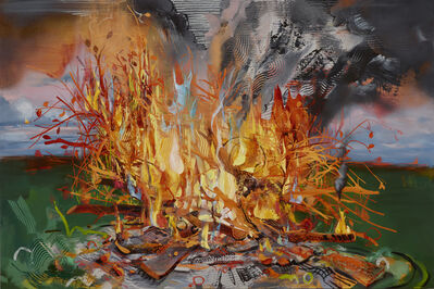 Margaret Curtis, 'Blazing World', 2020