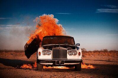 Tyler Shields, 'Rolls Royce II', 2015