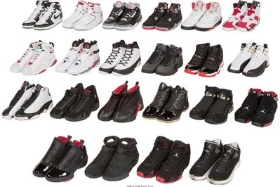 Air Jordan, 'Jordan Collezione (Retro Countdown Pack Collection); 22 Pairs', 2008