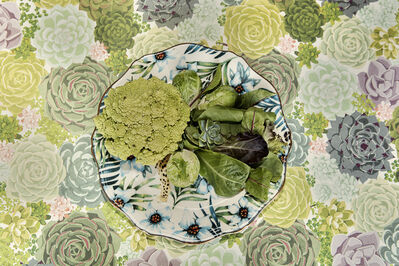 Lucia Fainzilber, 'Green - The Cookbook Series', 2019