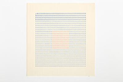 Tomaso Binga, 'Typecode 3', 1978
