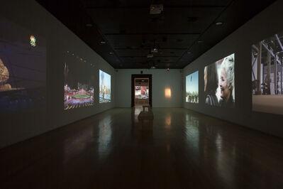 Cai Guoqiang 蔡国强, 'Installation view of videos shown for Cai Guo-Qiang: Da Vincis do Povo, Centro Cultural Banco do Brasil, Rio de Janeiro', 2013