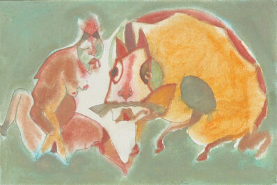 Francisco Toledo, 'Mujer', 1988