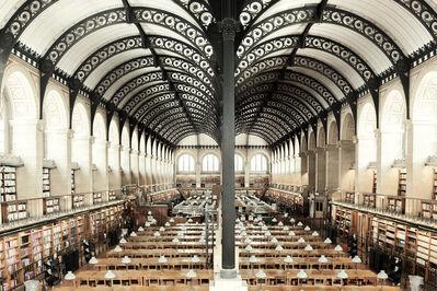 Ludwig Favre, 'Bibliotheque Sainte Genevieve', 2020