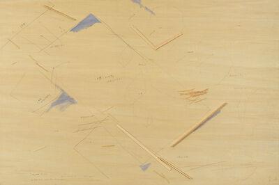 """Tadashi Kawamata, '""""Starting Over, Under Construction Maquette memo 4""""', 2017"""
