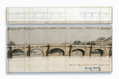 Christo and Jeanne-Claude, 'The Pont Neuf, Wrapped (Project for Paris)', 1983