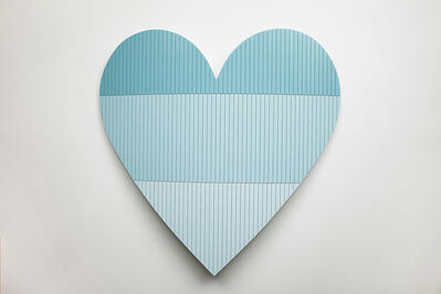 Nick Hollibaugh, 'Heart 3 (Blue)', 2016