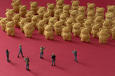 Christopher Boffoli, 'Cookie Bear Ambush', 2011