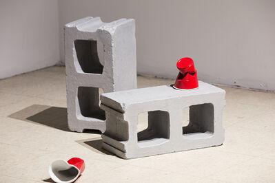 Zeke Moores, 'Cinder Block (1 and 2)', 2019