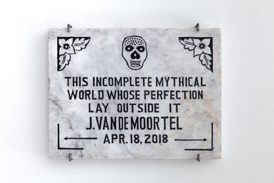 Joris Van de Moortel, 'This Incomplete World ', 2018
