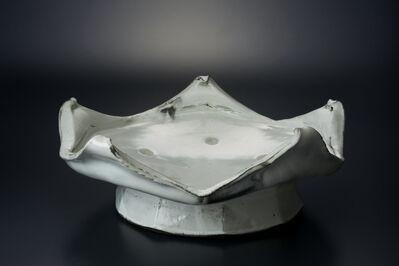 Masaya Yoshimura, '粉引五山台皿', 2013