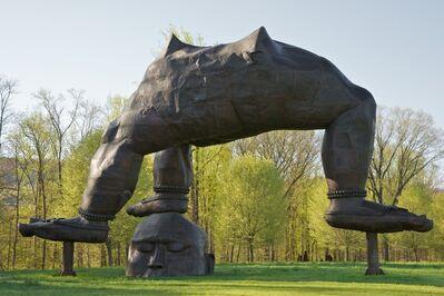 Zhang Huan, 'Three Legged Buddha', 2007