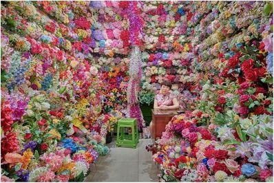 David Burdeny, 'Flower Vendor 01, Yiwu, China', 2019
