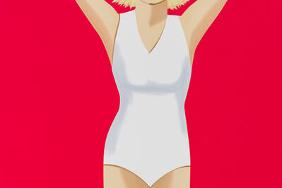 Alex Katz, 'Coca-Cola Girl 2', 2019