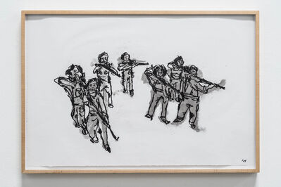 Kathleen Henderson, 'Army of Women in Training', 2014
