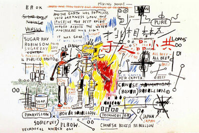 Jean-Michel Basquiat, 'Boxer Rebellion', 1982-83/2018