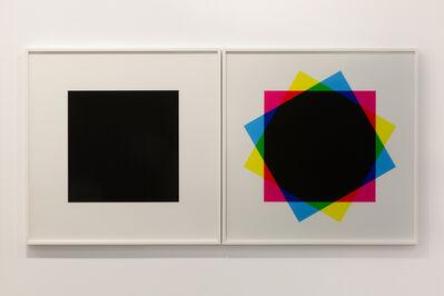 Hamra Abbas, 'Misprint 2  (Diptych), 2019', 2019