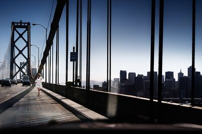 David Drebin, 'Running The Bridge', 2014