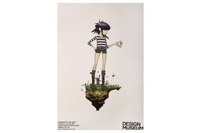 Jamie Hewlett, 'Noodle Original Designer of The Year Poster', 2006