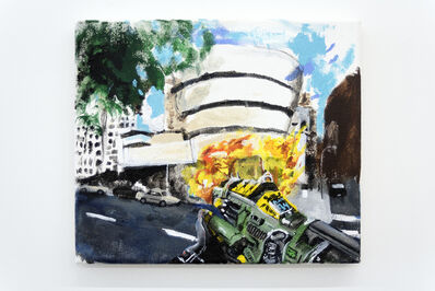 Huey Crowley, 'The new show at the Guggenheim is the bomb', 2015-2019