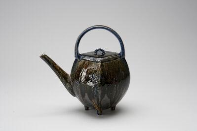 Ken Matsuzaki, 'Teapot, yohen soda glaze'