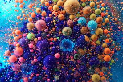 Ryoichi Fujisaki, 'colored oil 085', 2016