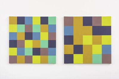 Peter Struycken, 'Kleurverhouding', 2015