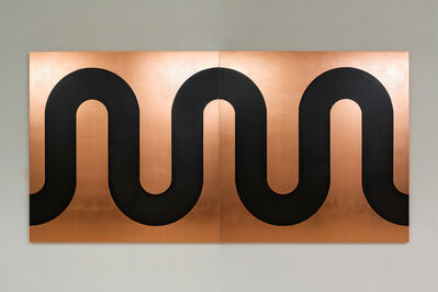 Edwin Monsalve, 'Copper River. Diptych', 2020