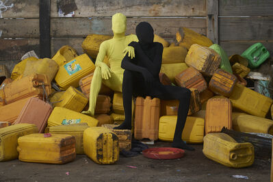 Serge Attukwei Clottey, 'Exit through the gift of Life IV', 2020