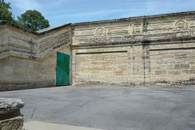 """David Kutz, 'Retro #1908; Palais des Papes, Avignon, France; June 2013; 43°57'9"""" N 4°48'30"""" E'"""