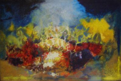 Aubrey Williams, 'Hymn to the Sun IV (Olmec Maya series)', 1984