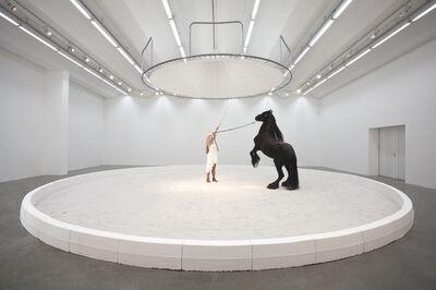Jeewi Lee, 'Blinder Beifall: Pferd', 2016