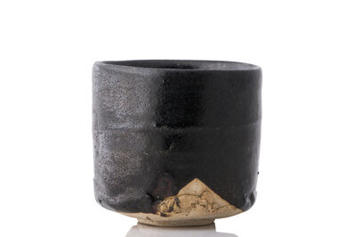 Shiro Tsujimura, 'Black cylinder shaped tea bowl', 2011