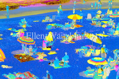 Ellen Waitzkin, 'Blue Beach No.22'