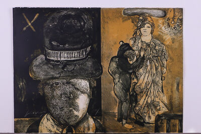 Jose Luis Cuevas, 'La Maga', 1972