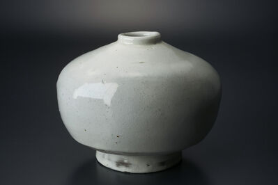 Masaya Yoshimura, '粉引扁壷', 2013