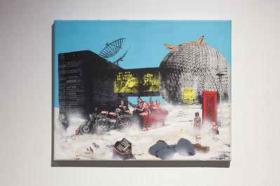 Eric Lamontagne, 'Le progrès (quadryptique)', 1991