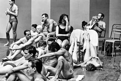 Marc Held, 'Aux Bains Deligny', ca. 1960
