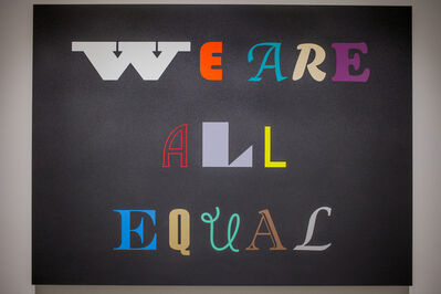Marcos Ramírez ERRE, 'We Are All Equal', 2017