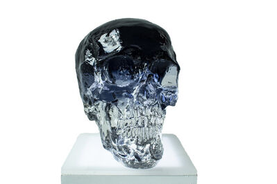 Sam Tufnell, 'Black Crystal Skull', 2019