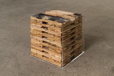 Johannes Wohnseifer, 'A Mine As Deep As Time (Stacked Studio Floor)', 2020