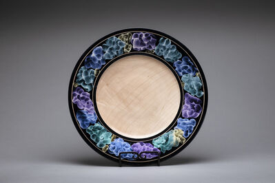 Dan Chevalier, 'Platter with Iridescent Paint Accents', 2020